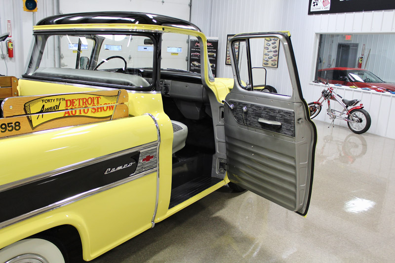 1958 Chevrolet Other Pickups Apache Cameo Carrier Pickup