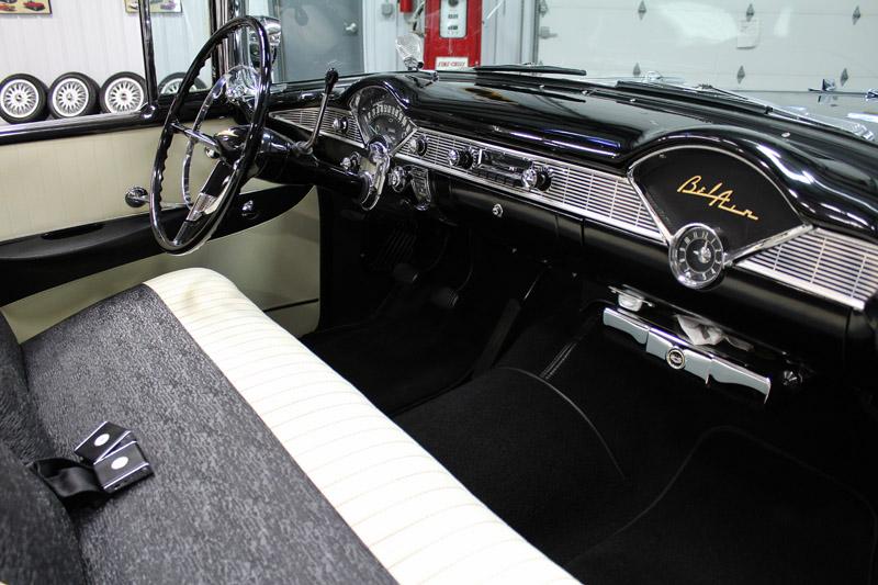 1956 Chevrolet Bel Air/150/210 : 1956 Chevrolet Bel Air Convertible. Beautiful. Dual Quads. Rare Options.